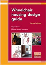 Wheelchair Housing Desgin Guide 2nd edition: front cover of publication