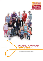 Image showing front cover of the Annual Report to Tenants 2011 linking to a download of the PDF version