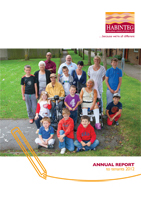 Image showing front cover of the Annual Report to Tenants 2012 linking to a download of the PDF version
