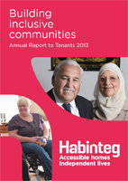 Image showing front cover of the Annual Report to Tenants 2013 linking to a download of the PDF version