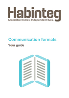 Download our communication formats guide