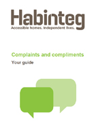 Complaints and compliments guide cover