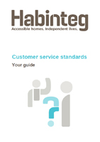 Download our customer service standards guide