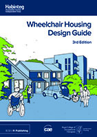 Front cover of the Wheelchair Housing Design Guide, 3rd Edition