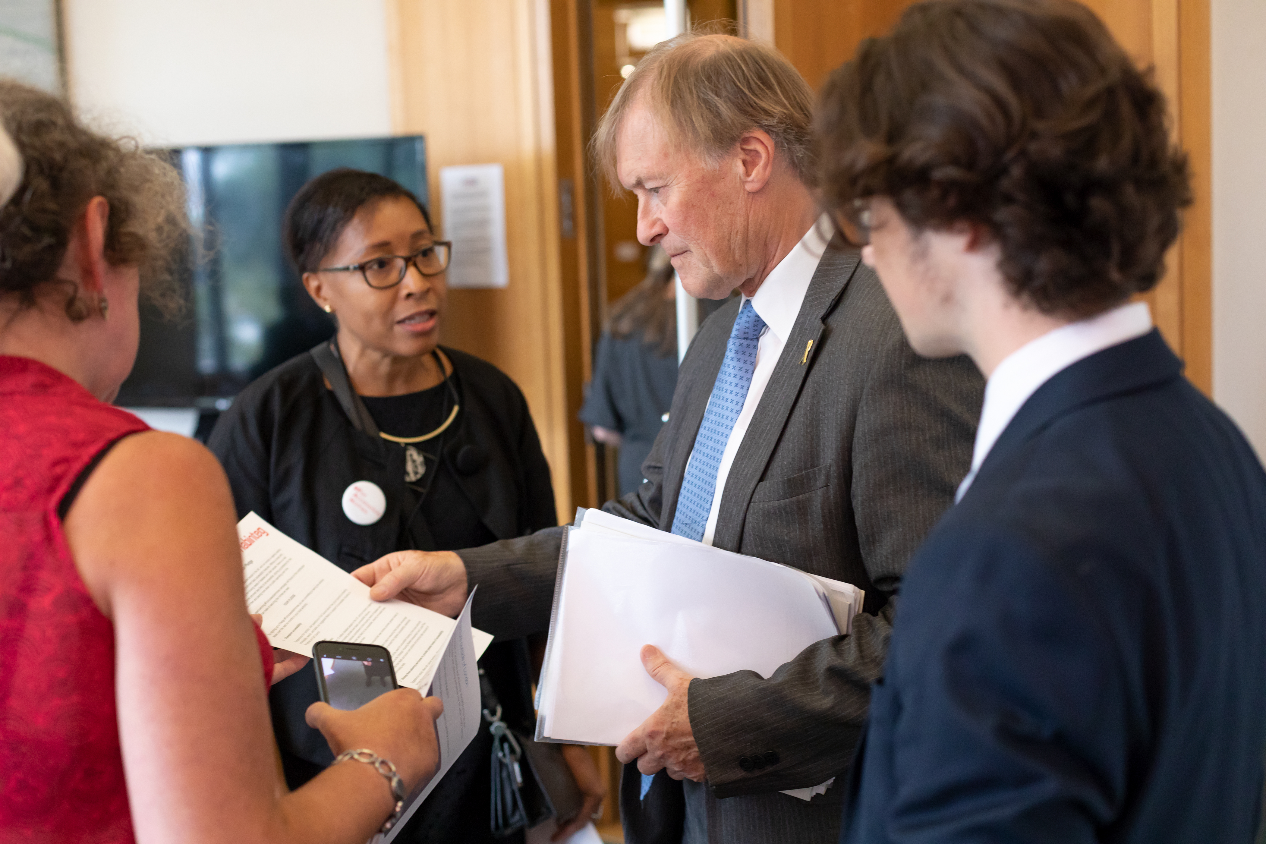 Sir David Amess speaks to Sheron Carter about new research released by Habinteg