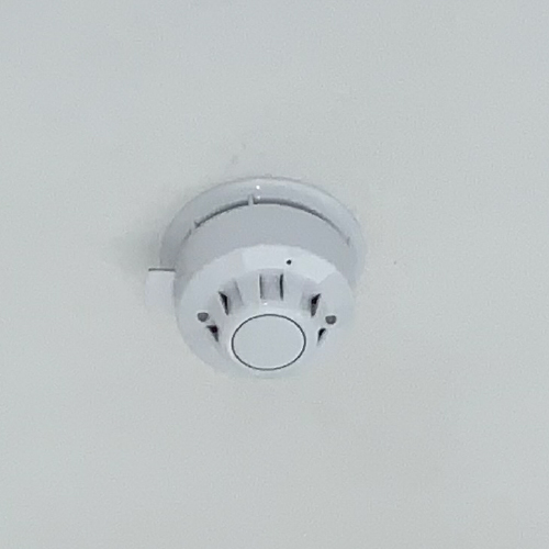 a picture of a fire alarm